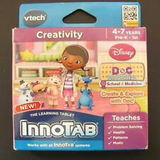 Disney Doc McStuffins Innotab 1 2 2s 3 3s Max Game Cartridge VTech Learning NEW