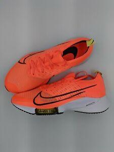 Nike Air Zoom Tempo Next% FK Flyknit Bright Mango Size 11 CI9923-800