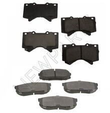 For Front and Rear Disc Brake Pads KIT OEM Genuine For Lexus LX570 Toyota Tundra