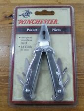 WINCHESTER POCKET PLIERS MULTI-TOOL 45888W ~ NEW ~ 12 Tools in One!