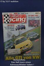 Rallye Racing 6/00 BMW X5 DB SLK Ford GT40 Audi TT-R