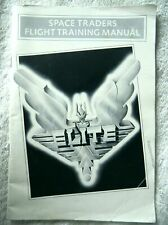 72630 Instruction Booklet - Elite Space Traders Flight Training Manual - Atari S