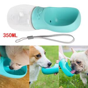 350ml Haustier Hunde Wasserflasche Trinkflasche Trinknapf Wassernapf Trink Näpfe