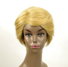 perruque afro femme 100% cheveux naturel courte blonde ref WHIT 04/22