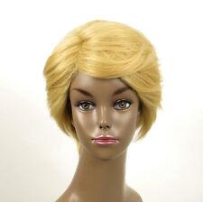 perruque afro femme 100% cheveux naturel courte blonde ref WHIT 04/22