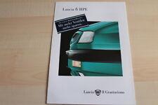 87352) Lancia Delta HPE Prospekt 02/1996