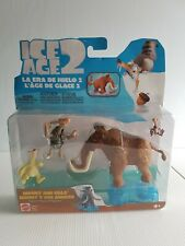 Manny and Pals Ice Age 2 figures ice slider series action figure NIB 2005 Mattel