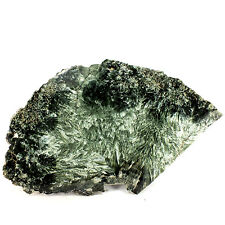 Seraphinite Polished Slice. Lake Baikal, Siberia, Russia (EA6076) Chlorite