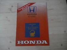 1985 HONDA CIVIC Catalogue Brochure Prospekt Dépliant French