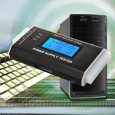 Digitale LCD pc computer 20/24 Pin Alimentatore Tester ATX BTX ITX SATA HDD