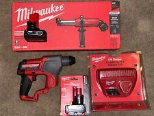 Milwaukee 2416-21XC 12-Volt 5/8-Inch 4.0Ah M12 FUEL SDS-Plus Rotary Hammer Kit