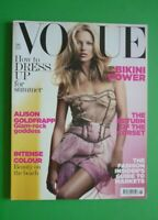 Vogue UK June 2006 Kate Moss Guinevere Van Seenus Julia Stegner British Magazine