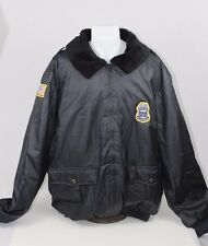 3XL Men's Security Police Coat Jacket United Service Apparel Black Weiser
