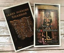 Malachi York books - Learn Nuwaubian Grammar And Being An Egiptian Initiate