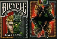 Carte da gioco BICYCLE ELVES & ORCS,poker size
