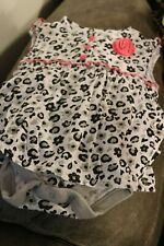 Infant Outfit Girl Faded Glory Size 6-9 Preowned