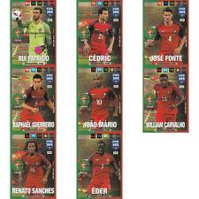 Fußball Portugal Trading Cards Erscheinungsjahr 2016