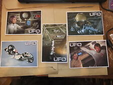 GERRY ANDERSON UFO 5 card Carlton set  1 ITC Preview Promo ED BISHOP SHADO