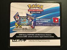 Code Online TCG Pokemon - 1 Coffret Box EX (Mega SWAMPERT / LAGGRON) en ligne