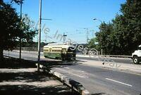 2005 SEPTA PCC 2332 Trolley Philly Urban City Scene Kodachrome Slide
