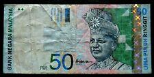 Malasia 50 ringgit P43 1998 ---