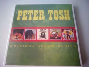 PETER TOSH - ORIGINAL ALBUM SERIES 5 CD SET NEW AND SEALED 2014