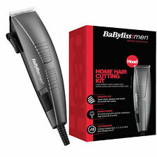 BaByliss 7452BU For Mens Corded Home Hair Cutting Clipper Kit