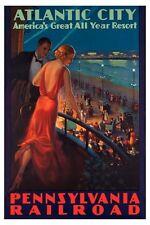 Atlantic City Poster 24in x36in