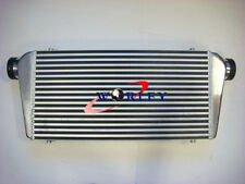 """Universal Turbo Aluminum Intercooler 600x300x70mm Front Mount 3"""" IN/OUTLET 76MM"""