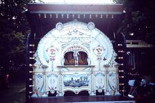 Vintage Kodachrome Slide Negative  Of Fun Fair Steenput Belgian Fair Organ image