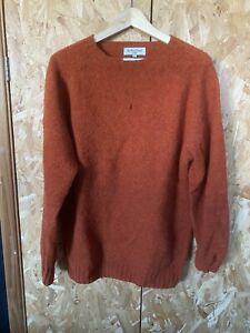 YMC wool Jumper Orange Large