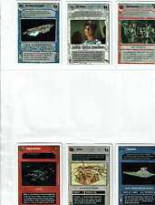 Decipher Star Wars CCG Second Anthology Preview SET White Border UNPLAYED