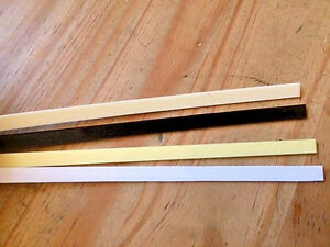 Guitar Binding Purfling Strip for Luthier 1650mm x 6mm ABS Plastic Choose Colour