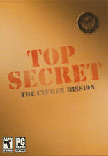 TOP SECRET THE CYPHER MISSION - Adventure Mystery PC Game - US Seller - NEW!