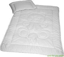 2-tlg. Baby Bettenset Kissen 40x60 cm und Decke 100x135 cm Microfaser Teddy TOP