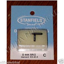 Garrard KS40A, HMV HV15D Compatible Turntable Stylus - Part # D444SR