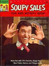 1965 RARE VINTAGE *NEVER USED* SOUPY SALES FUN & ACTIVITY BOOK FREE SHIPPING