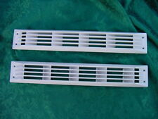 """SEA RAY 215 EXPRESS CRUISER WHITE BOAT VENT LOUVER BILGE EXHAUST 17-1/2"""" NEW!"""
