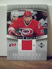 2006-07 Upper Deck Trilogy Honorary Swatches #HSJW Justin Williams