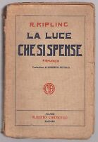 Rudyard Kipling- LA LUCE CHE SI SPENSE