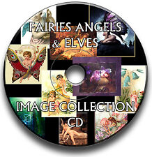 2,000+ FAIRIES, ANGELS & ELVES IMAGES CARD MAKING ART & CRAFT CD