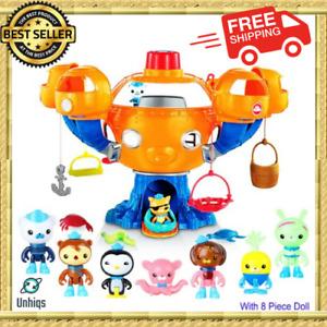 Octonauts Ocean Adventure Action Toy Figures Light Music Joy Octopus Castle
