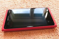 Nokia Lumia 900 * 16GB Rosa Rot 4,3 Zoll * SEHR GUT * Windows Touch 8MP HSDPA |4