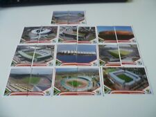 Panini World Cup South Africa 2010 Complete Set of Stadium Stickers