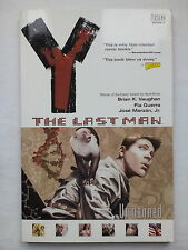 BRIAN K VAUGHAN.THE LAST MAN UNMANNED.FIRST PRINT.2002 VERTIGO BOOK 1.WIZARD