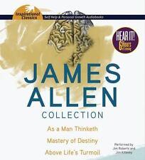 5 CD James Allen Collection As a Man Thinketh Mastery of Destiny, Above Turmoil