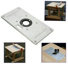 235mm x 120mm x 8mm in alluminio Tabella del Router Inserire Piastra per la lavorazione del legno panche