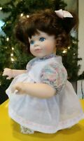 "Porcelain Doll ""Lullaby and Goodnight"" by Georgetown Collection Kneeling"