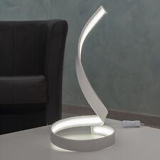 Lampada moderna curva luce tavolo scrivania ufficio LED 12W lume comodino 230V