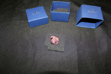 Swarovski 5003405 Baby Pacifier - Pink - With Box - Preowned!